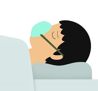 ヌーカラは、好酸球性重症喘息による入院率を約半分にする: メタアナリシス