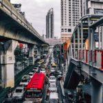 交通機関による大気汚染は、小児喘息の発症に関連するか?