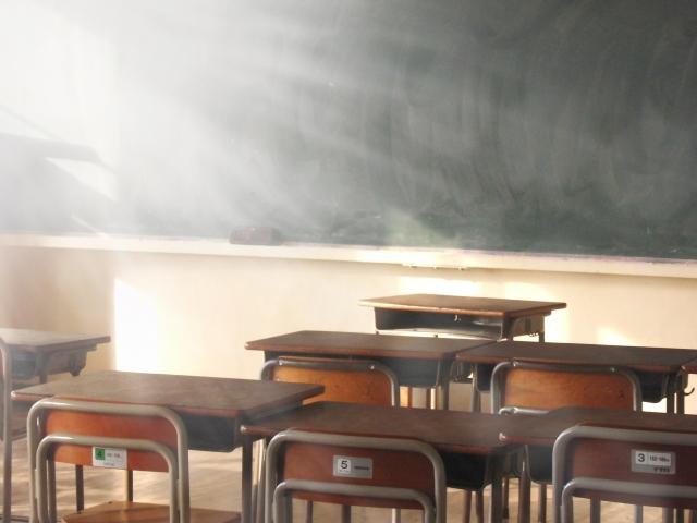 学校における環境と、喘息症状に関連はあるか?
