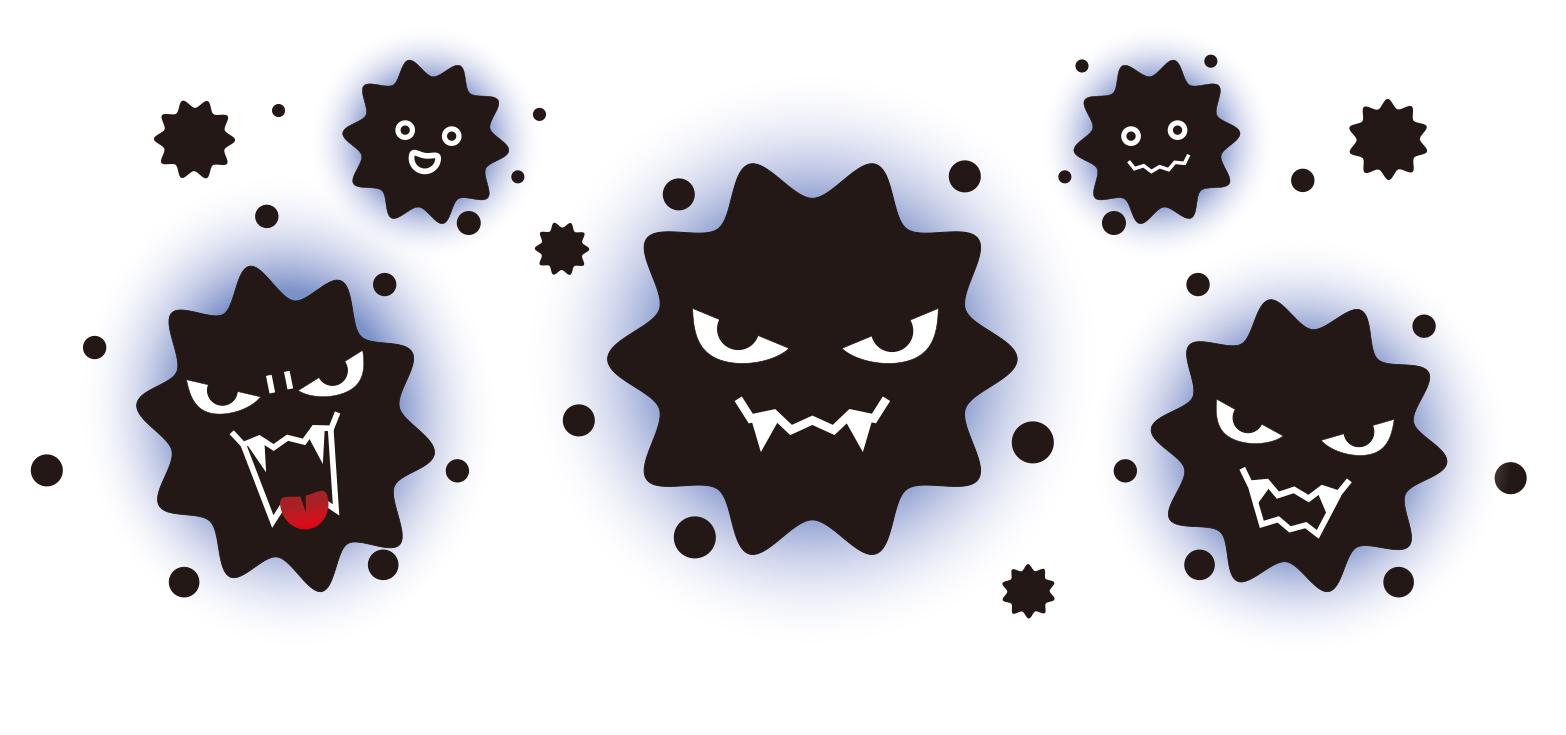 重症アトピー性皮膚炎から検出された黄色ブドウ球菌ほど、アトピー性皮膚炎を悪化させる