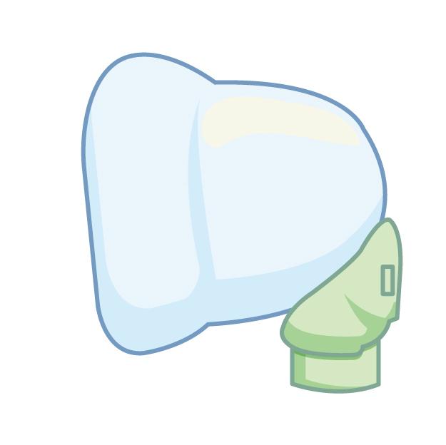 ウイルス性喘鳴に対する気管支拡張薬には、高張食塩水を混合した方が良い?