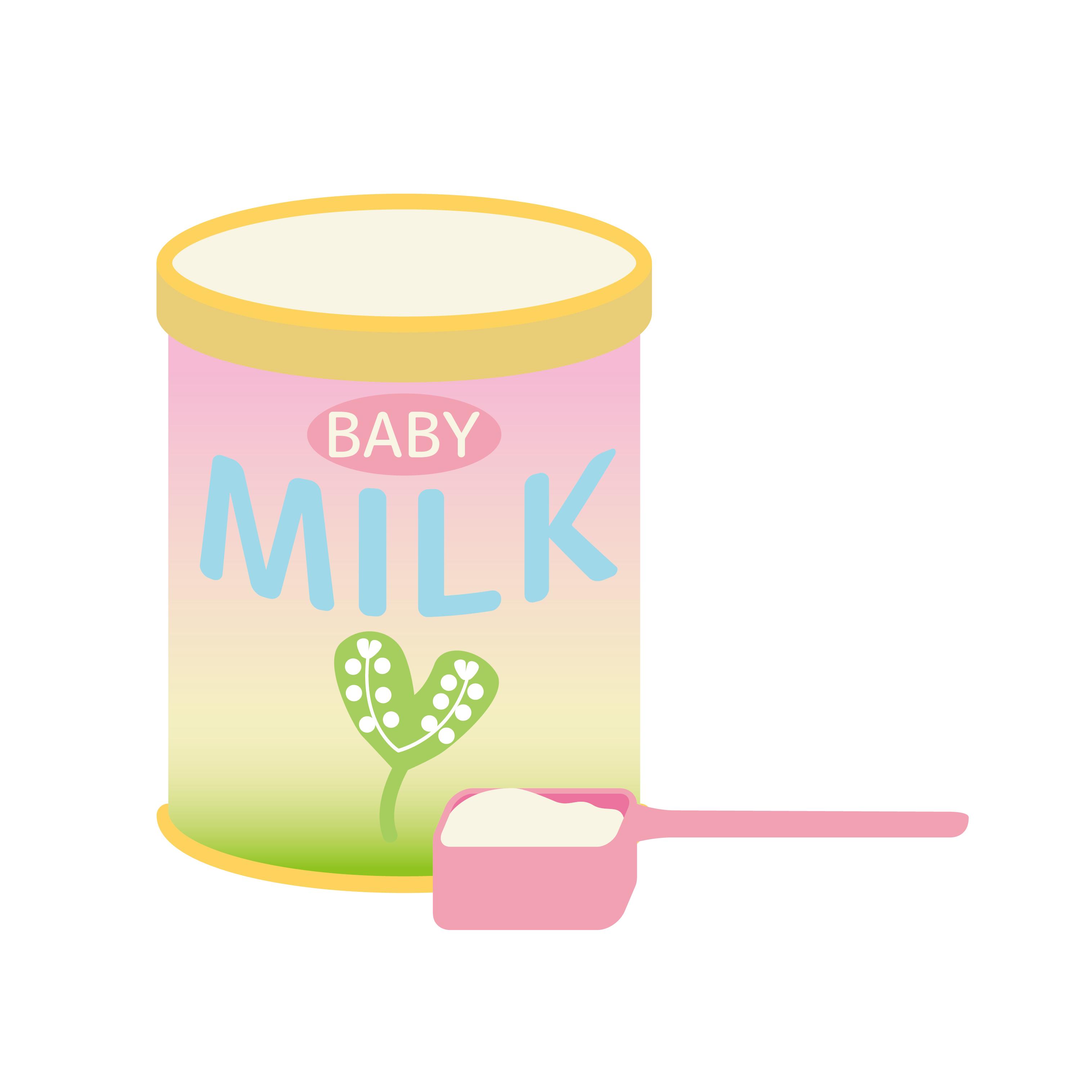 人工乳を早期に導入すると、ミルクアレルギーが少ないかもしれない