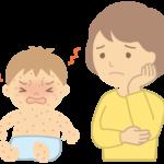 アトピー性皮膚炎があると、とびひになる可能性が1.8倍になる