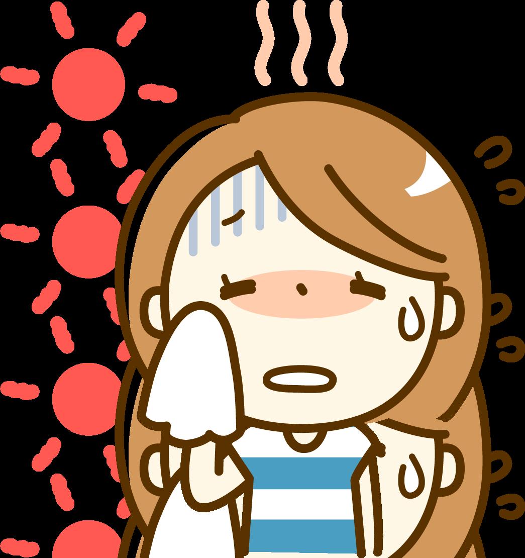 汗とアトピー性皮膚炎の関連は?
