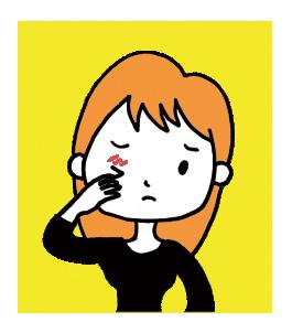 目の周囲の湿疹、その原因は?