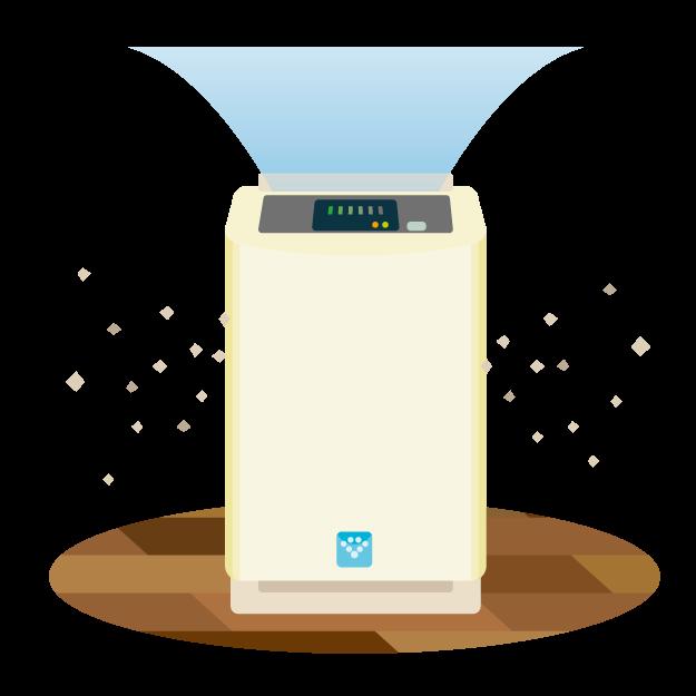 空気清浄機は、喘息コントロールに有用か?