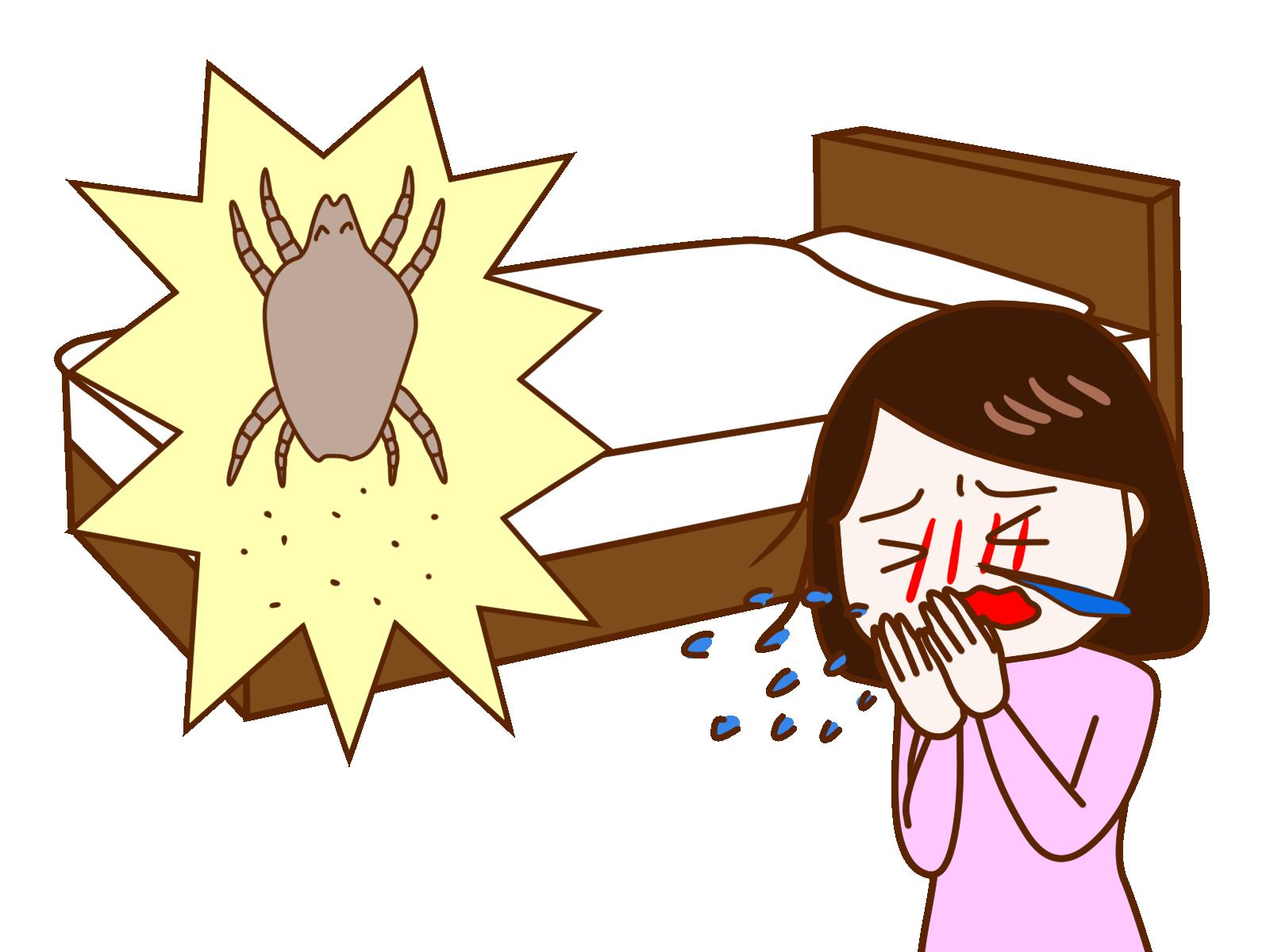 ダニが気管支喘息の悪化原因になっていることを報告した初論文