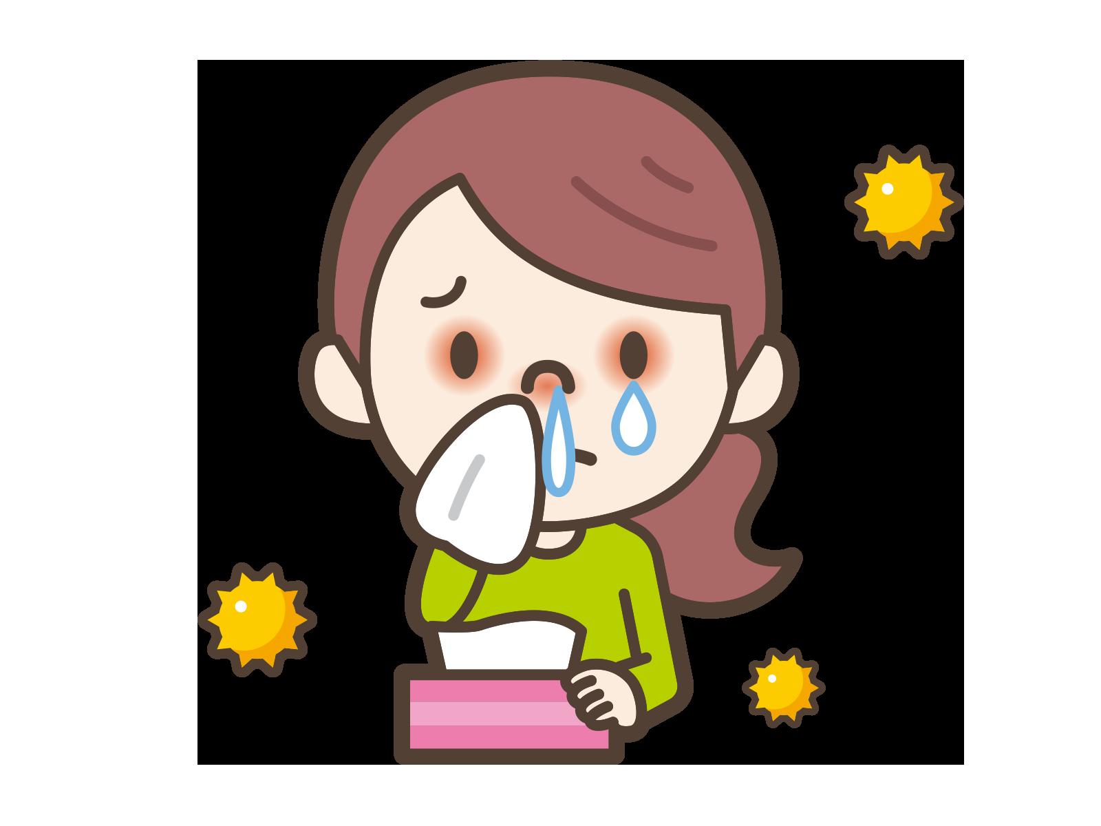 花粉に対する経皮免疫療法の有害事象は、皮膚の障害の程度による