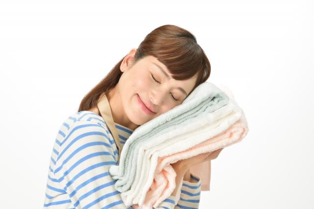 乾燥肌の際に、柔軟剤を使用するとむしろ改善に働くかもしれない