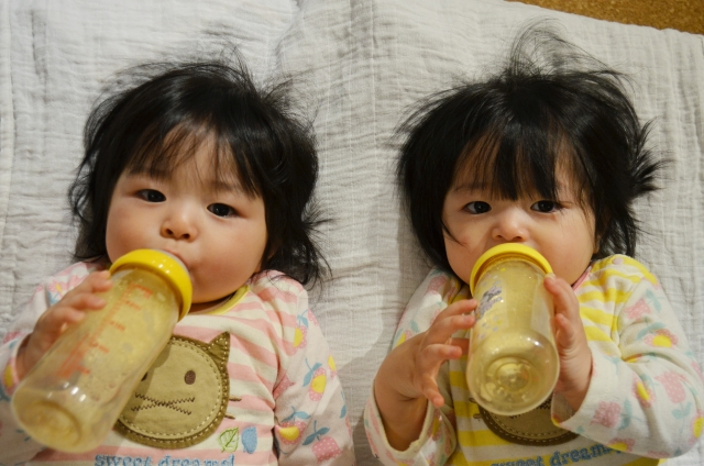 生後1ヶ月から普通粉ミルク10mL以上を摂取していると、乳アレルギーが予防できる(SPADE試験)