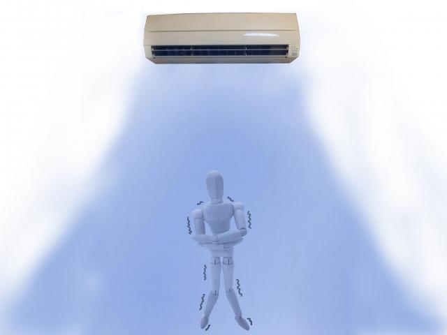 エアコンの冷気は、アトピー性皮膚炎児の皮膚に影響するか?