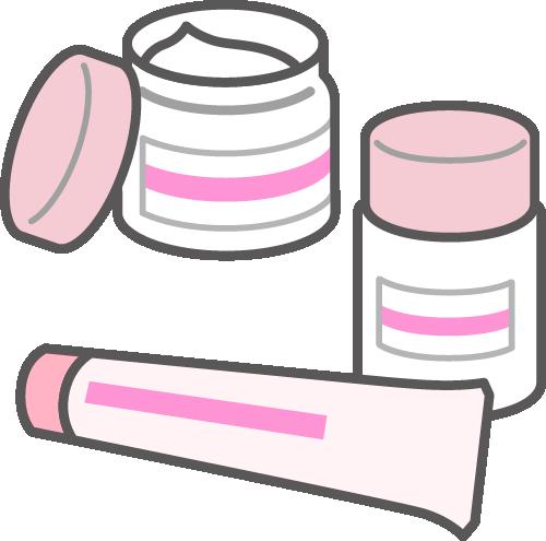 保湿剤は、大きな容器の方が小さなチューブよりも多く塗るようになる