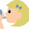 より早期に、長期間湿疹が続いたほうが、その後の喘息の発症が多い?