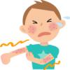 アトピー性皮膚炎における感染を示唆する湿潤性病変に抗生剤併用は有用か?